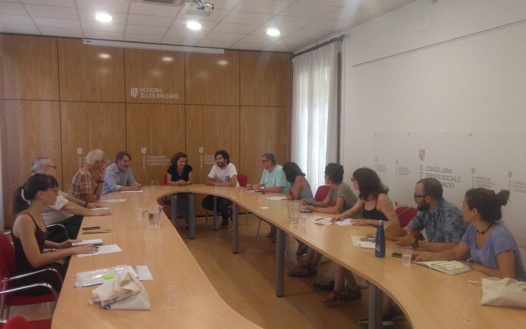 Audiència amb la Consellera Fina Santiago