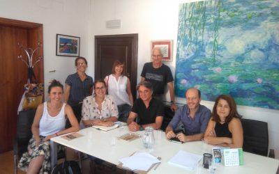 Reunió amb la nova Directora General de Cooperació, Laura Celià
