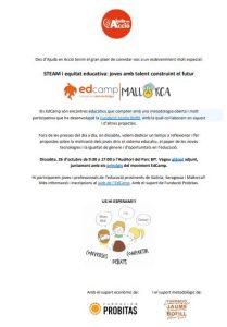 EdCamp sobre noves tecnologies en el sector educatiu @ Parc BIT