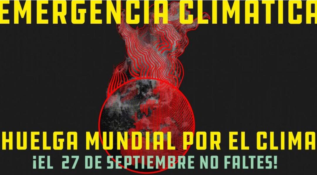 HUELGA MUNDIAL POR EL CLIMA 27S