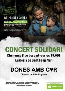 CONCERT SOLIDARI @ Església de Sant Felip Neri
