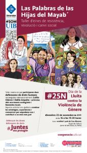 «Las Palabras de las Hijas del Mayab'», taller d'eines de resistència, revolució i canvi social