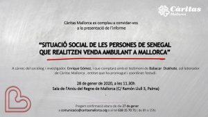 SITUACIÓ SOCIAL DE LES PERSONES DE SENEGAL QUE REALITZEN VENDA AMBULANT A MALLORCA @ sala d'actes de l'Arxiu del Regne de Mallorca C/ Ramón Llull, 3. Palma.