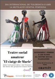 """TEATRE SOCIAL AMATEUR """" El viatge de Marie"""" @ CENTRO FLASSADERS"""