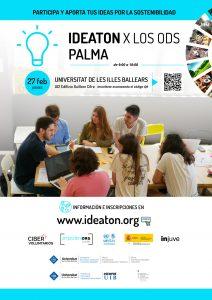 IdeatonxlosODS- El 27 de Febrero 📆 durante todo el día!! @ universidad de les Illes Balears