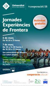 JORNADAS Experiencias de Fronteras @ Seu Universitària de Menorca